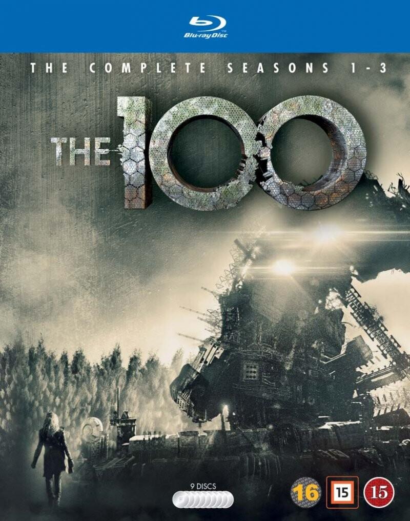 The 100 - Sæson 1-3 - Blu-Ray - Tv-serie