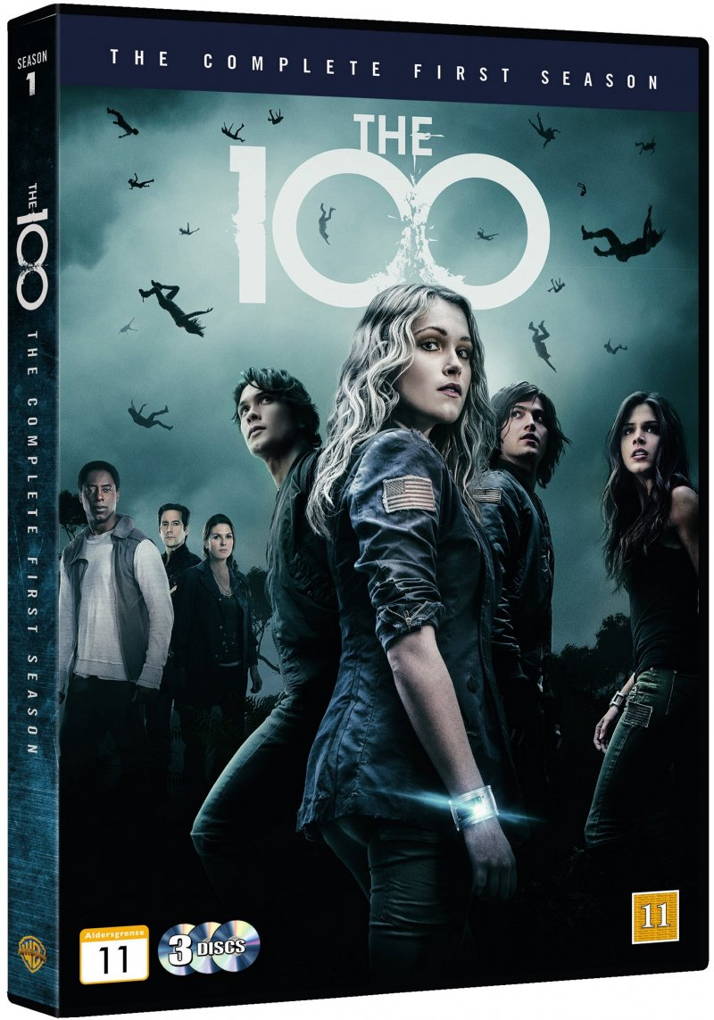 Image of   The 100 - Sæson 1 - DVD - Tv-serie