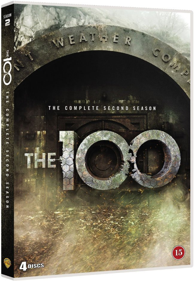 Image of   The 100 - Sæson 2 - DVD - Tv-serie