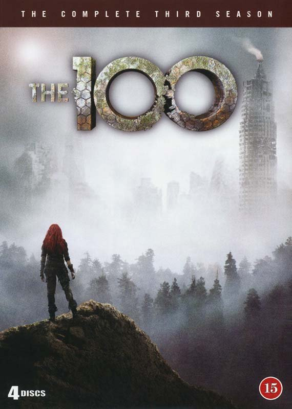 Image of   The 100 - Sæson 3 - DVD - Tv-serie