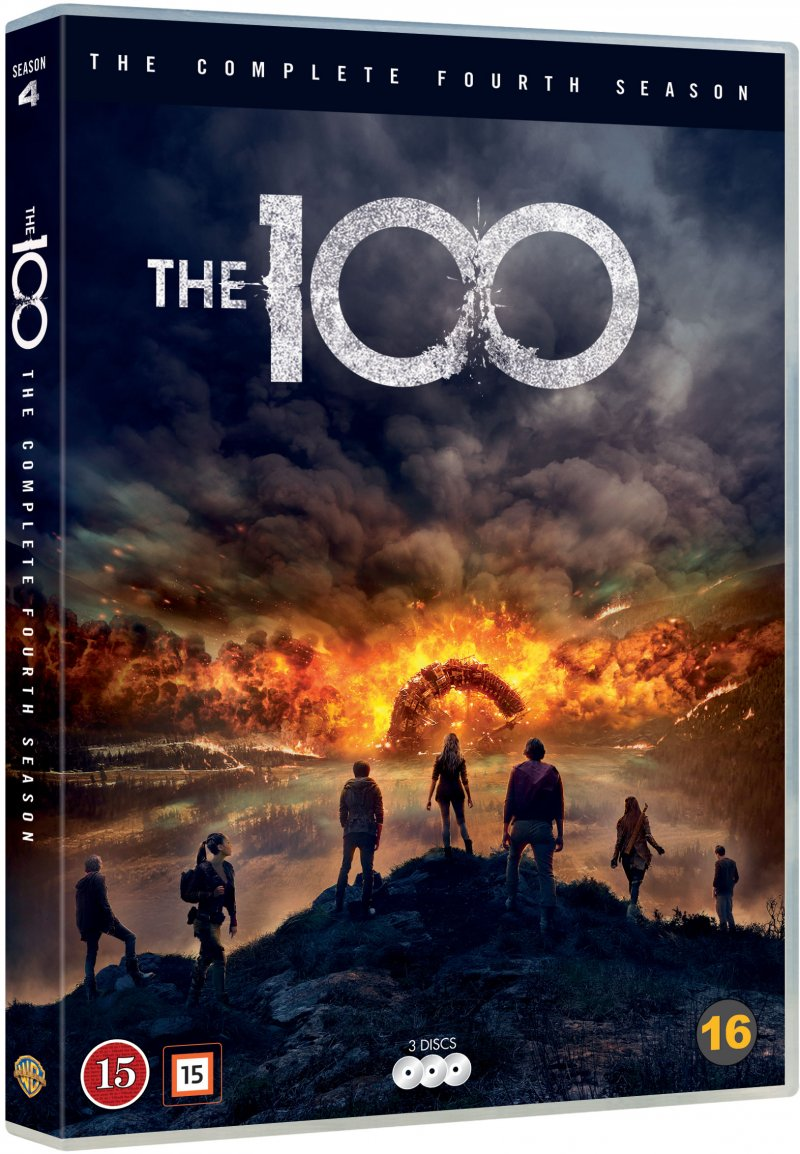 Image of   The 100 - Sæson 4 - DVD - Tv-serie
