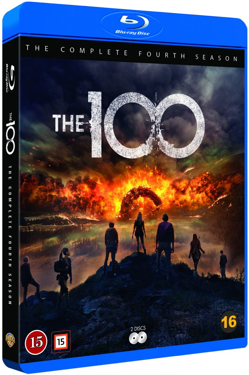 The 100 - Sæson 4 - Blu-Ray - Tv-serie