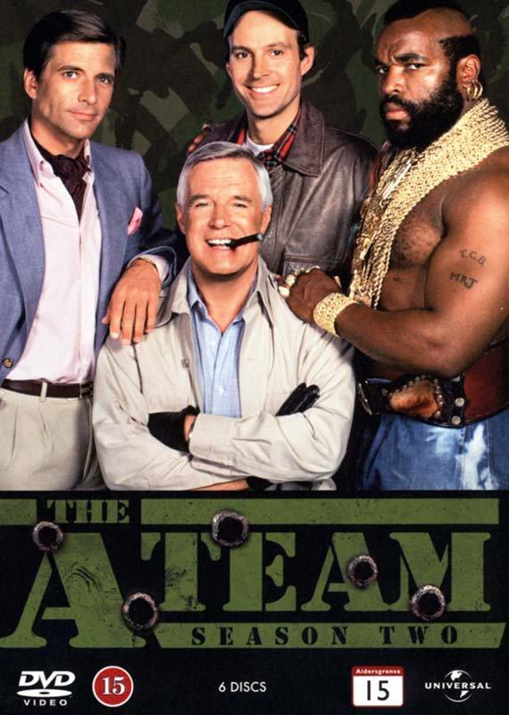Billede af The A-team - Sæson 2 - DVD - Tv-serie