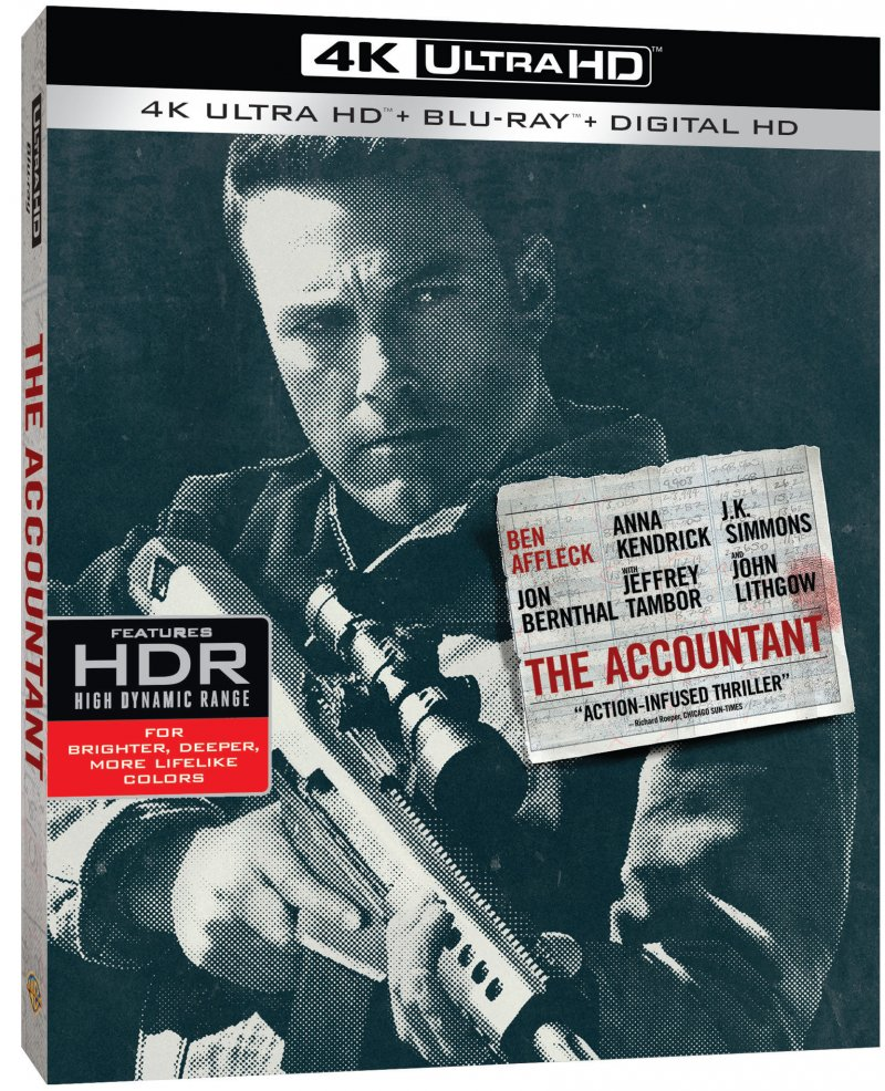 Image of   The Accountant - 2016 - 4K Blu-Ray