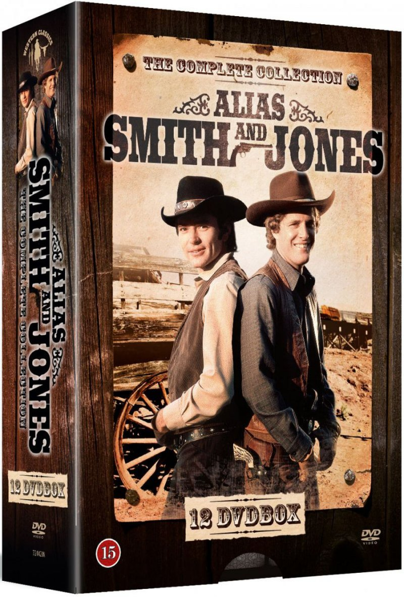 Alias Smith And Jones - Sæson 1+2 - DVD - Tv-serie