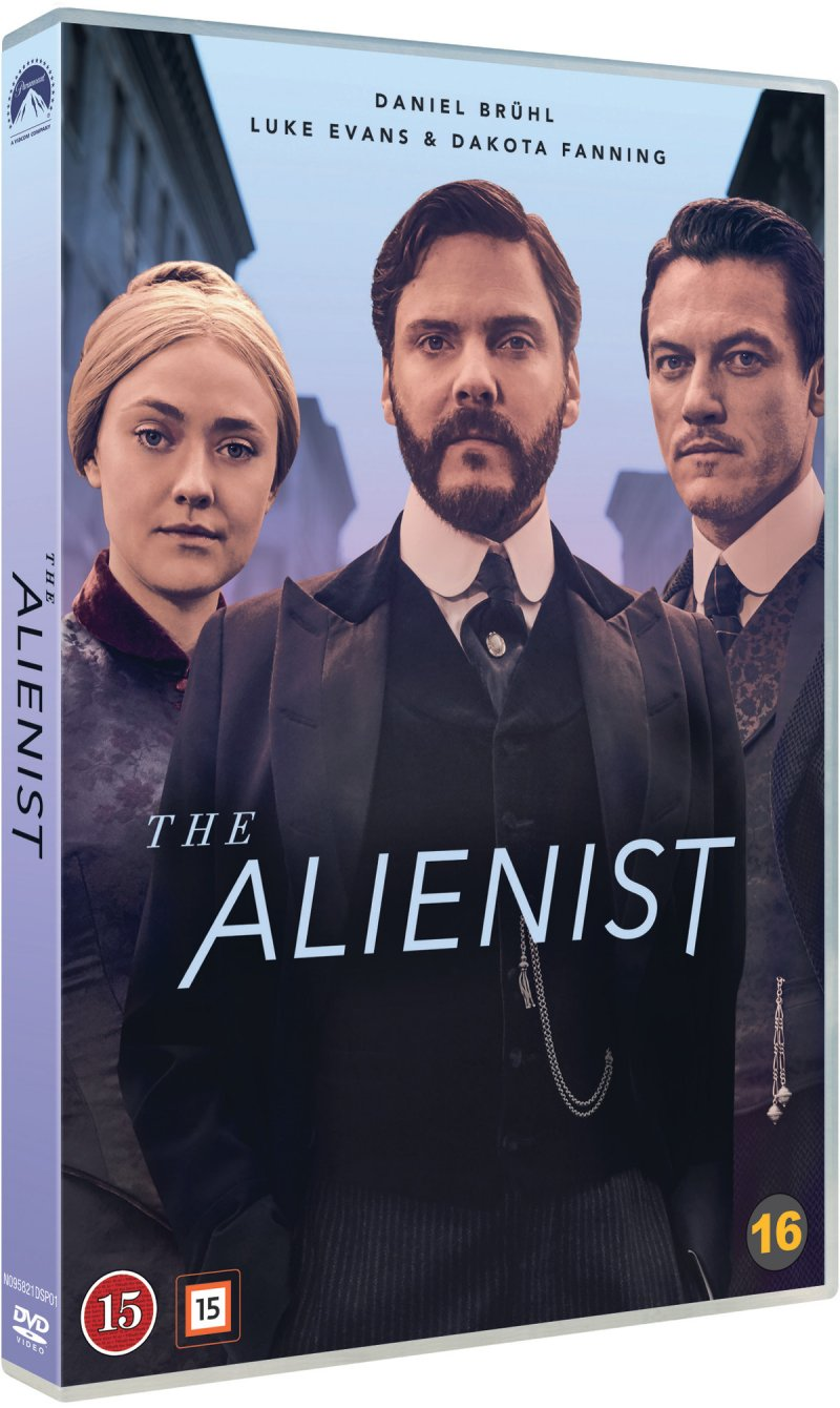 Image of   The Alienist - DVD - Tv-serie