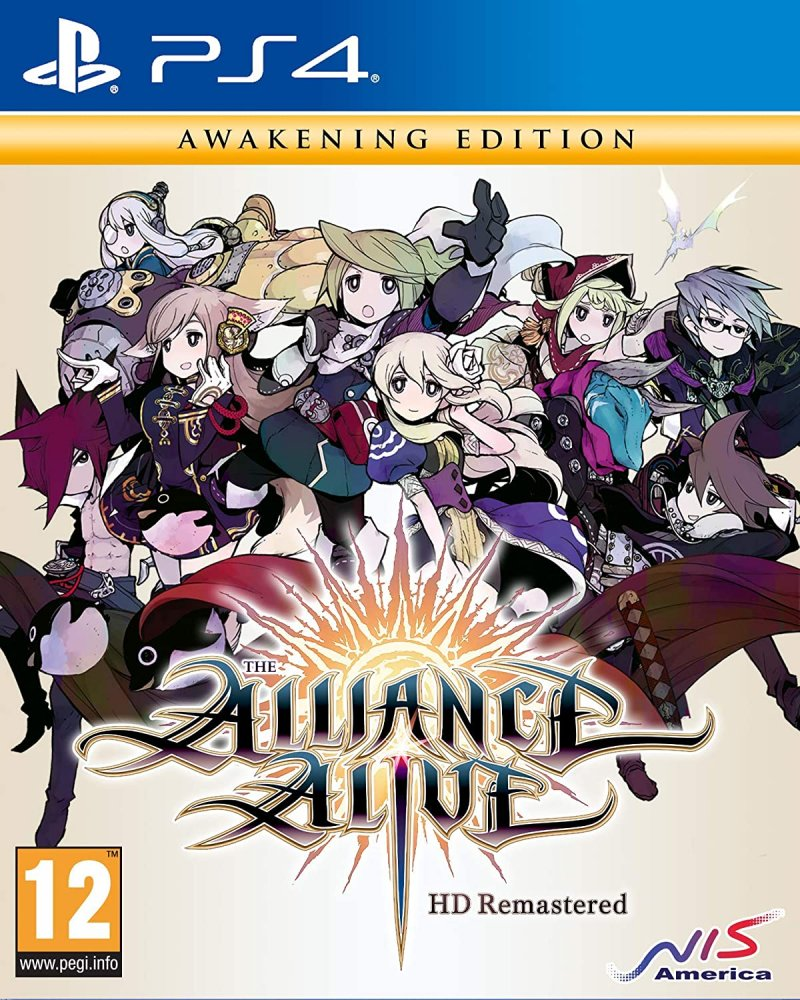 Image of   The Alliance Alive Hd Remastered - PS4