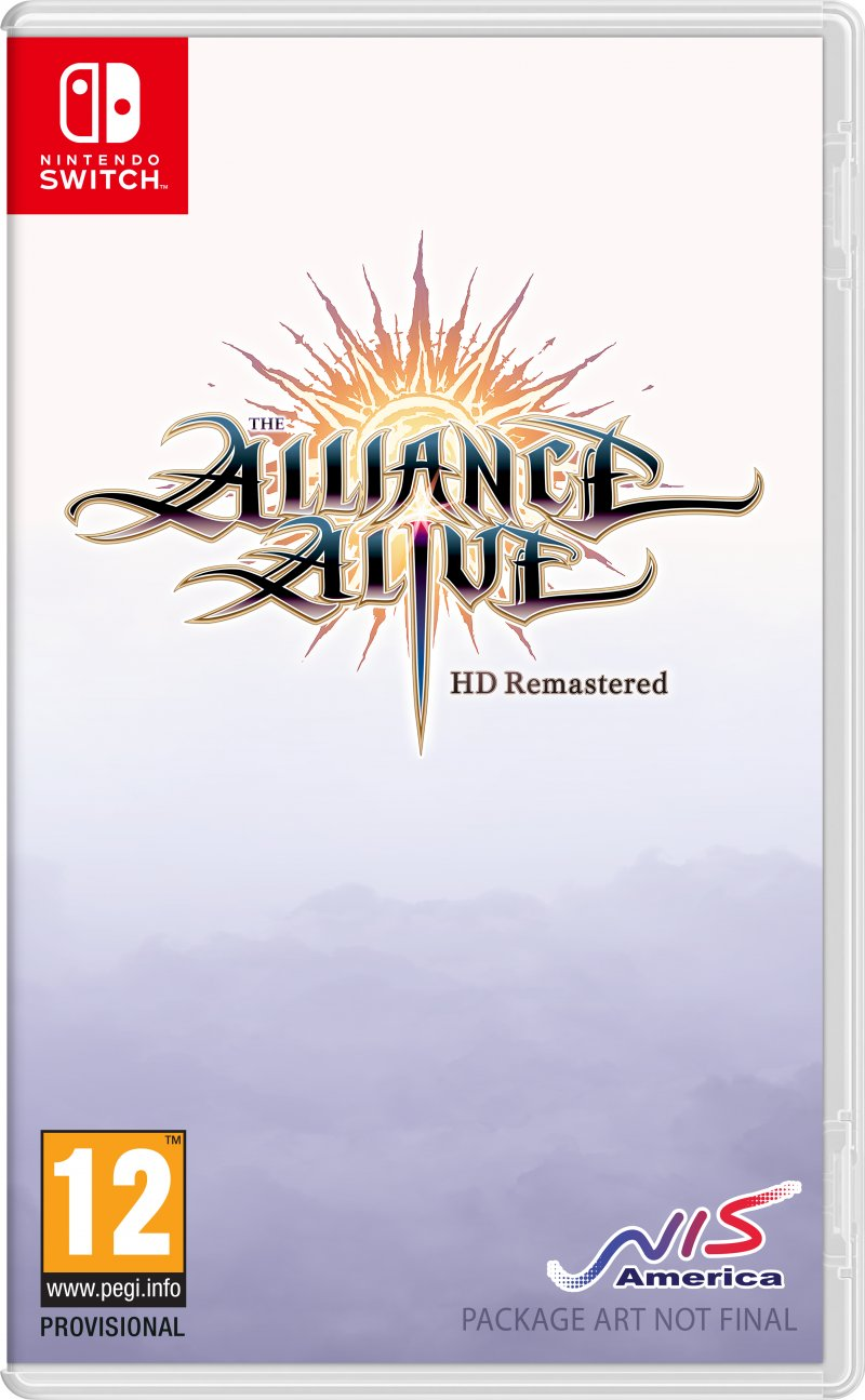 Image of   The Alliance Alive Hd Remastered - Nintendo Switch