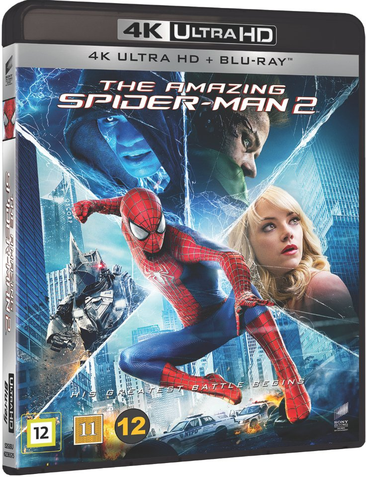 Image of   The Amazing Spider-man 2 - 4K Blu-Ray