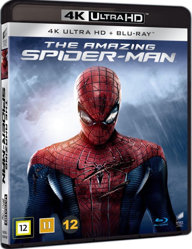 Image of   The Amazing Spider-man - 4K Blu-Ray