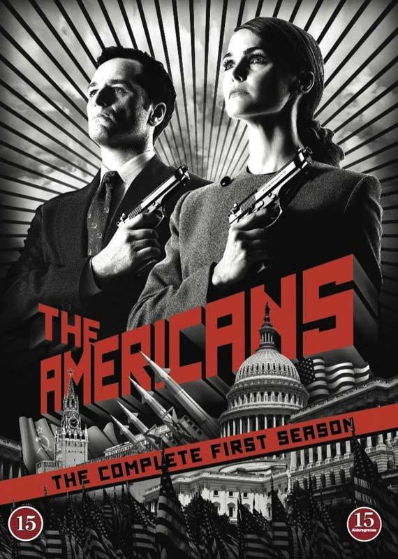 Billede af The Americans - Sæson 1 - DVD - Tv-serie