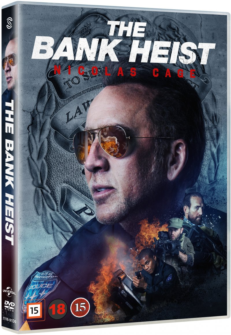 Image of   211 / The Bank Heist - Nicolas Cage - DVD - Film