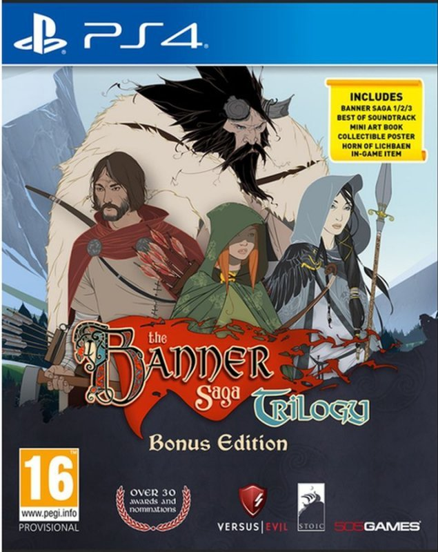 Image of   The Banner Saga Trilogy - Bonus Edition - PS4
