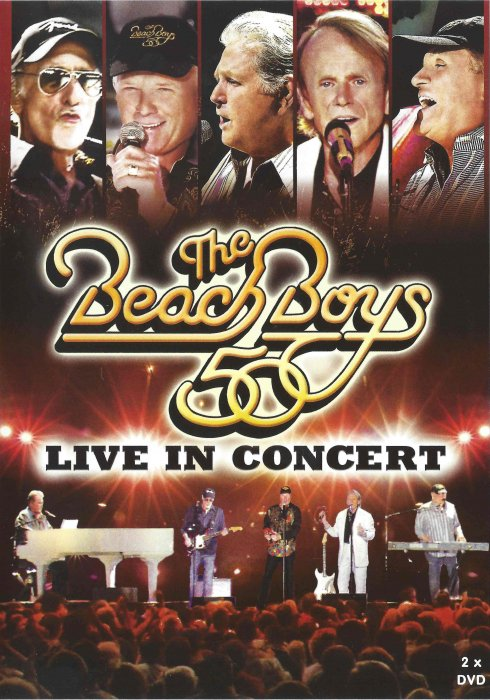 Image of   The Beach Boys - 50th Anniversary Tour - Live In Concert - DVD - Film