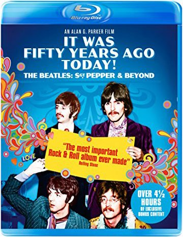 Image of   The Beatles: Sgt Pepper 50 år - Blu-Ray