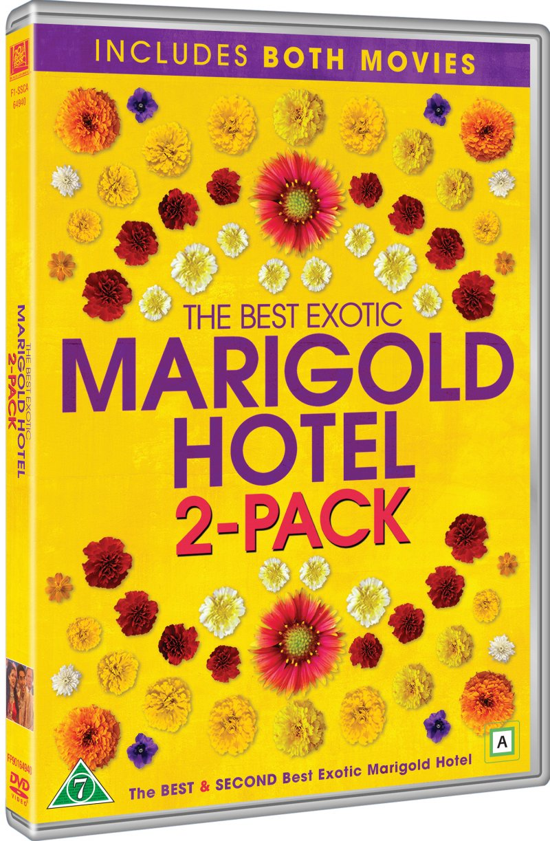 The Best Exotic Marigold Hotel // The Second Best Exotic Marigold Hotel - DVD - Film