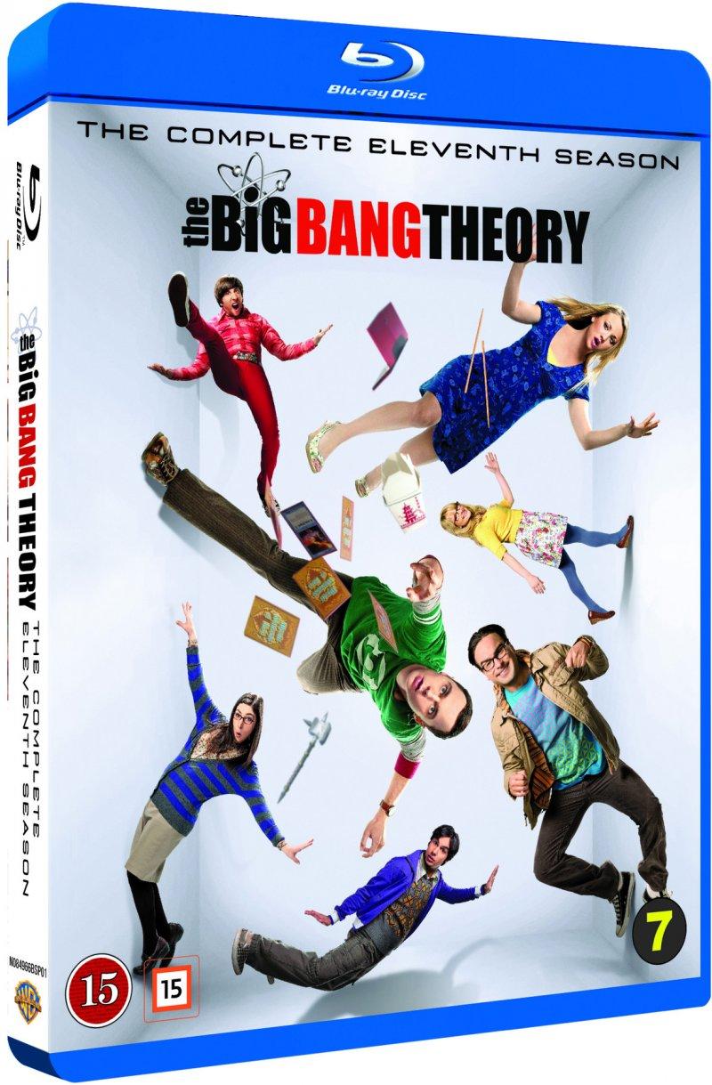 Image of   The Big Bang Theory - Sæson 11 - Blu-Ray - Tv-serie