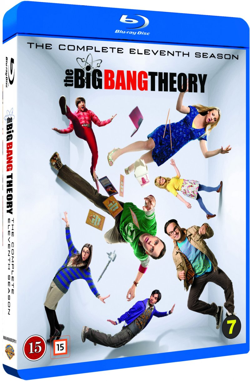 Image of   The Big Bang Theory - Sæson 11 - Blu-Ray - Tv-serie