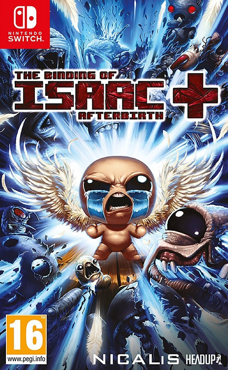 Image of   The Binding Of Isaac: Afterbirth+ - Nintendo Switch