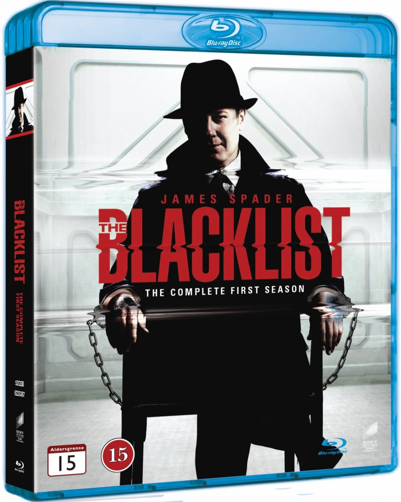The Blacklist - Sæson 1 - Blu-Ray - Tv-serie