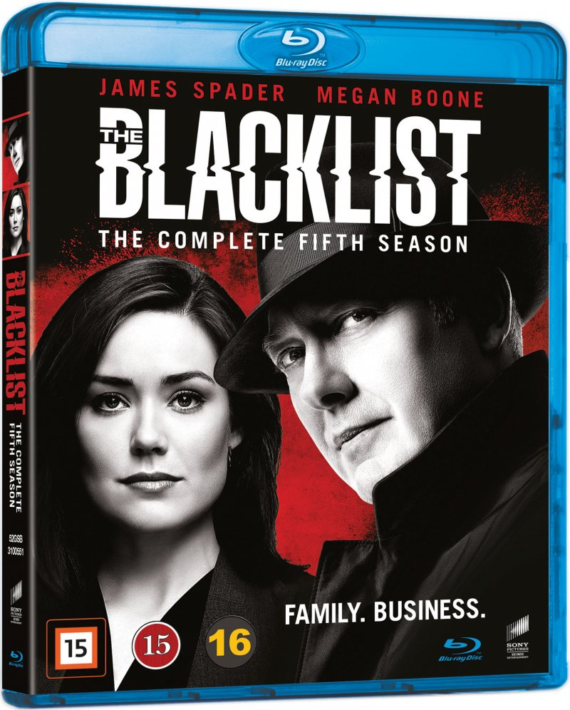 The Blacklist - Sæson 5 - Blu-Ray - Tv-serie