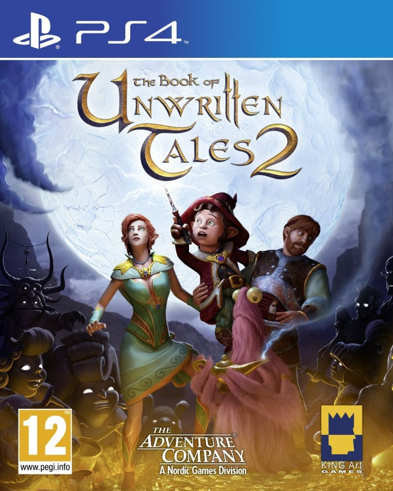 Image of   The Book Of Unwritten Tales 2 - PS4