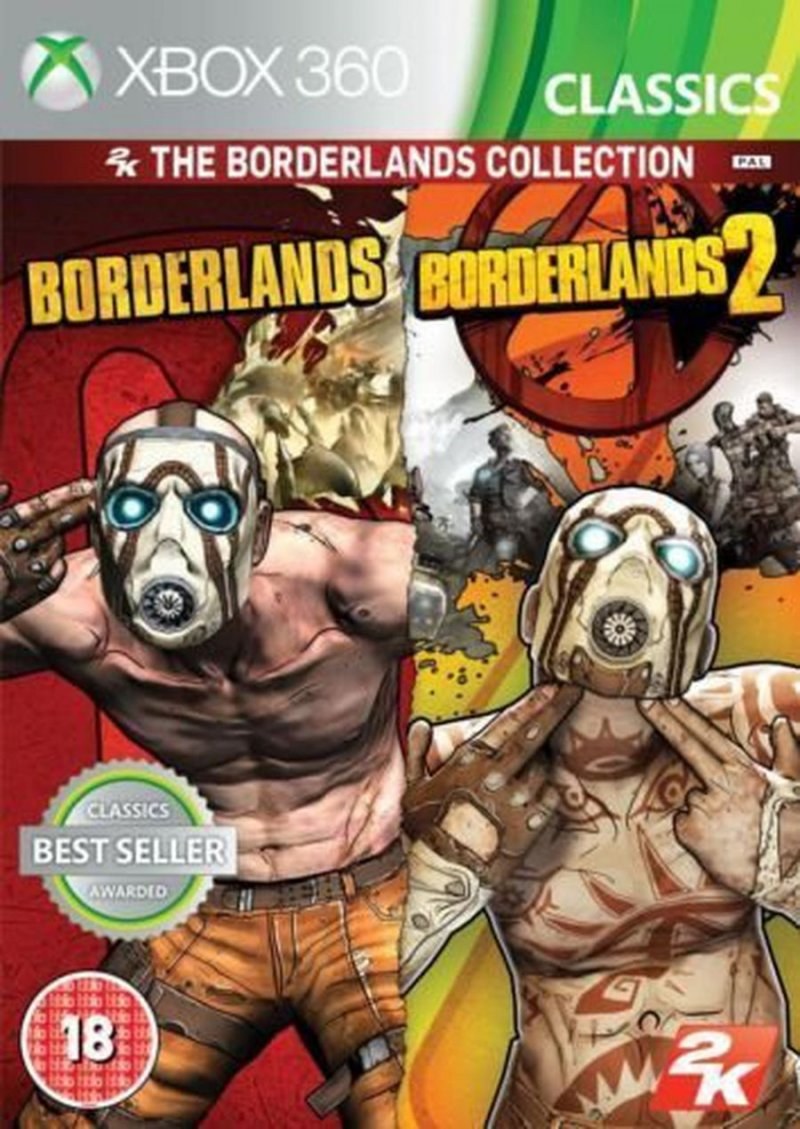 The Borderlands Collection - Xbox 360