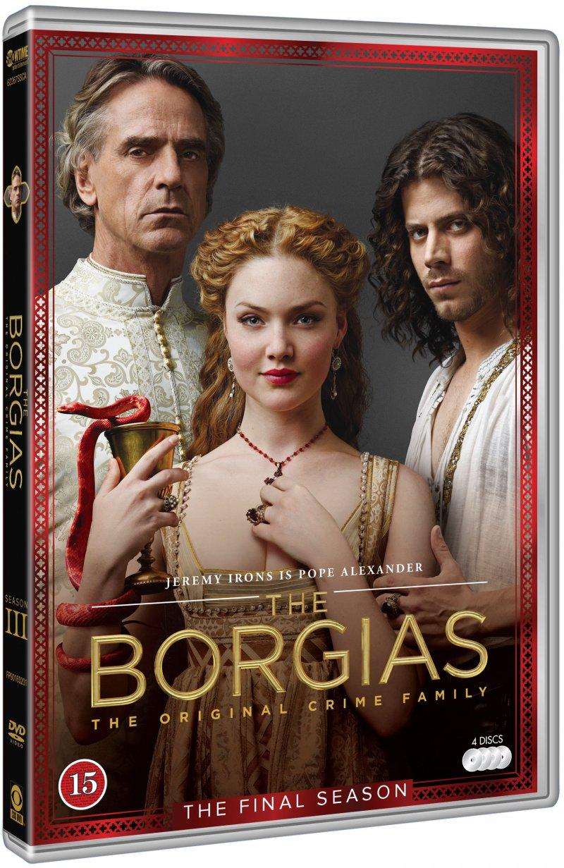The Borgias - Sæson 3 - DVD - Tv-serie