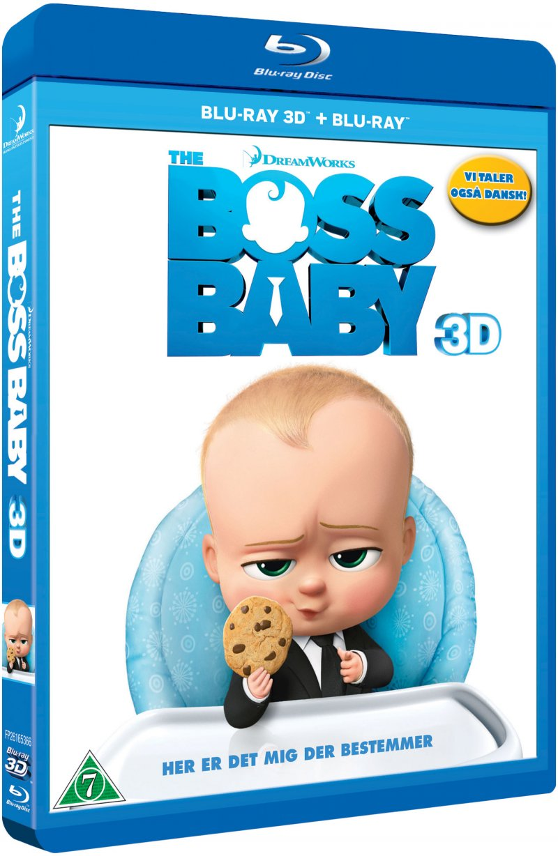 Image of   The Boss Baby - 3D Blu-Ray