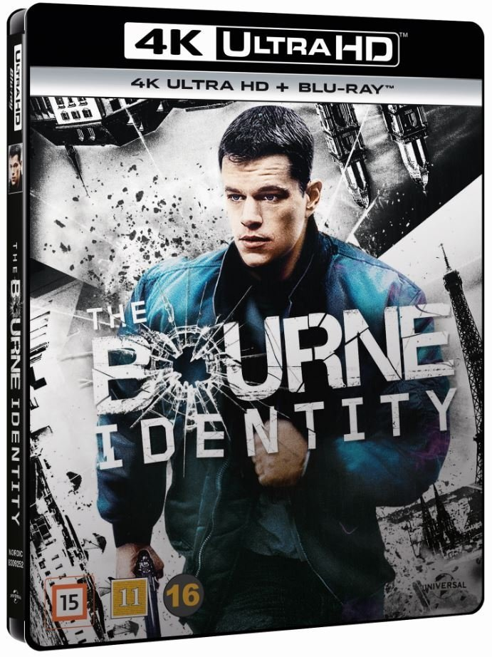 Image of   The Bourne Identity - 4K Blu-Ray