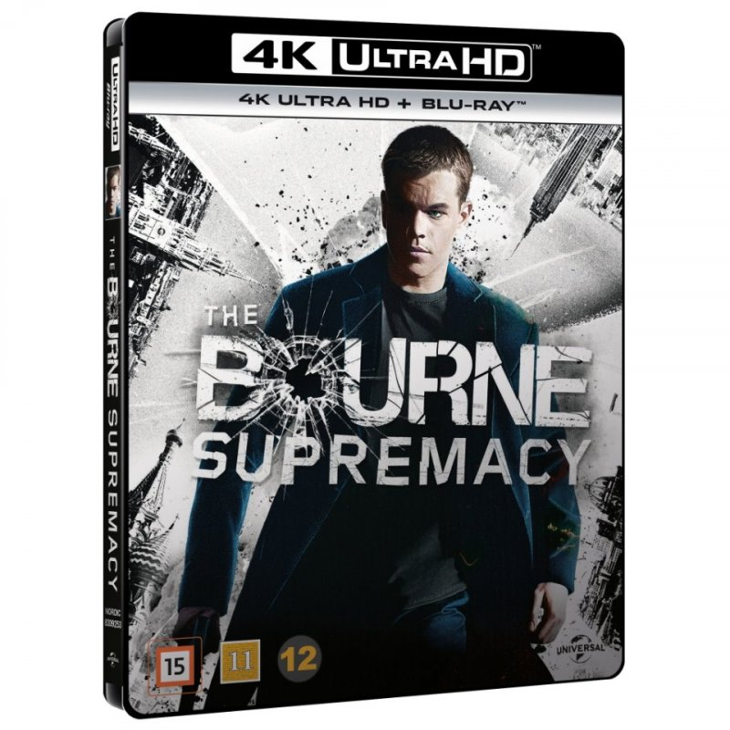 Image of   The Bourne Supremacy - 4K Blu-Ray