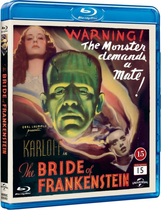 Image of   The Bride Of Frankenstein - Blu-Ray
