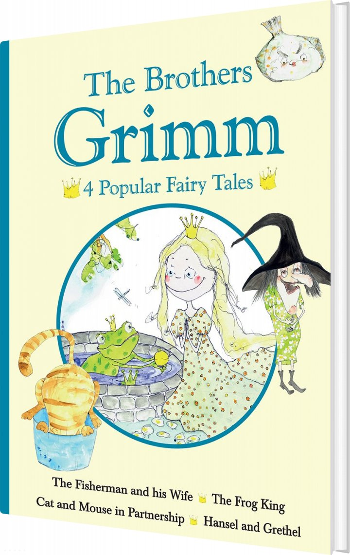 The Brothers Grimm - 4 Popular Fairy Tales II - The Brothers Grimm - Bog