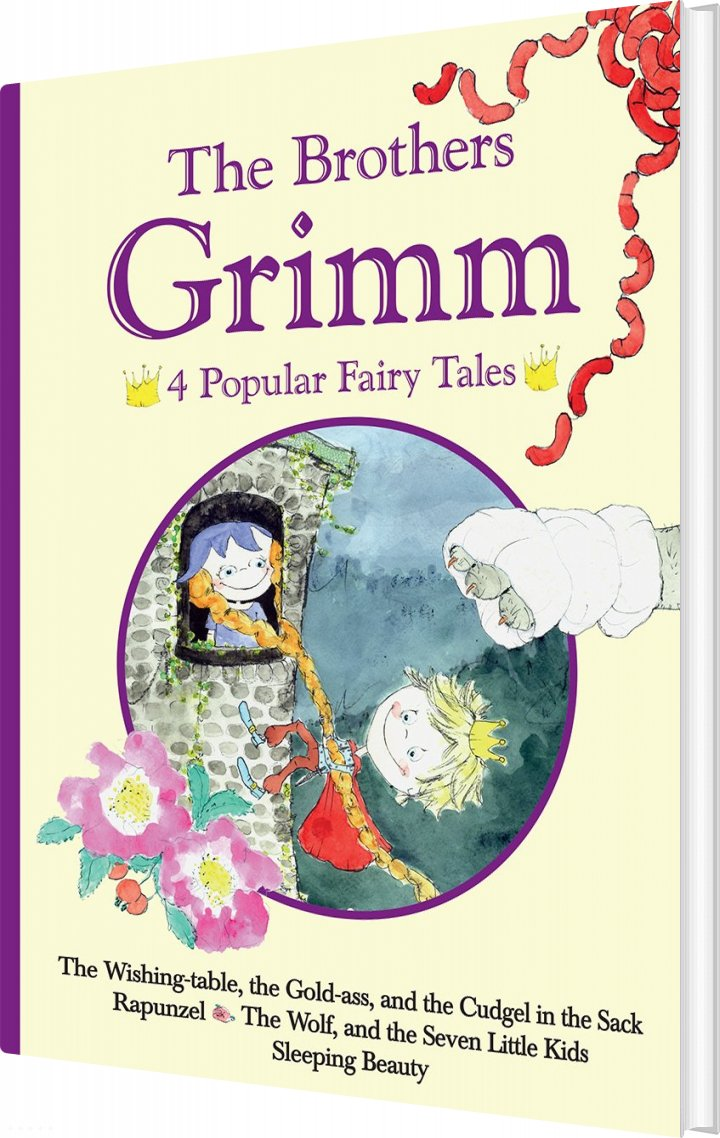 The Brothers Grimm - 4 Popular Fairy Tales Iii Af The Brothers Grimm