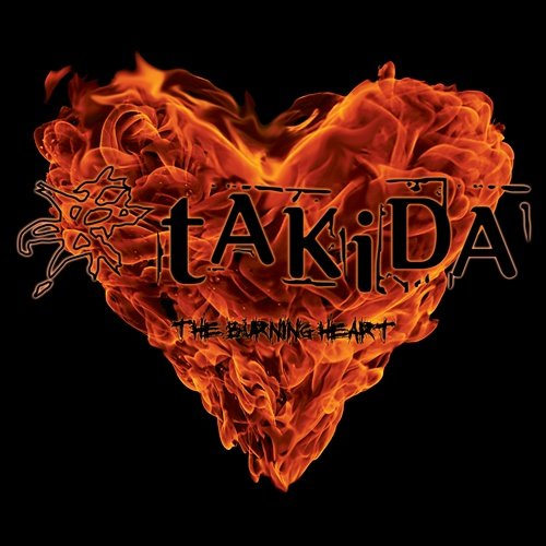 Takida - The Burning Heart - CD