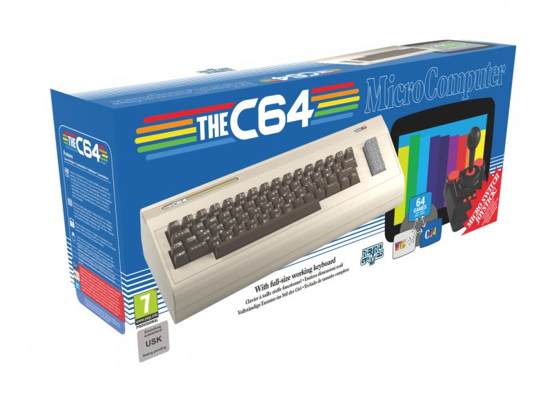 Image of   Commodore 64 Spillekonsol - The C64 Full-sized