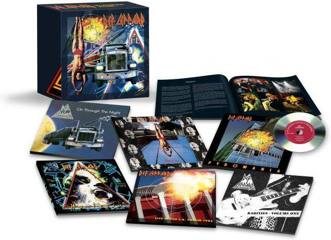 Image of   Def Leppard - The Cd Box Set: Volume One - CD