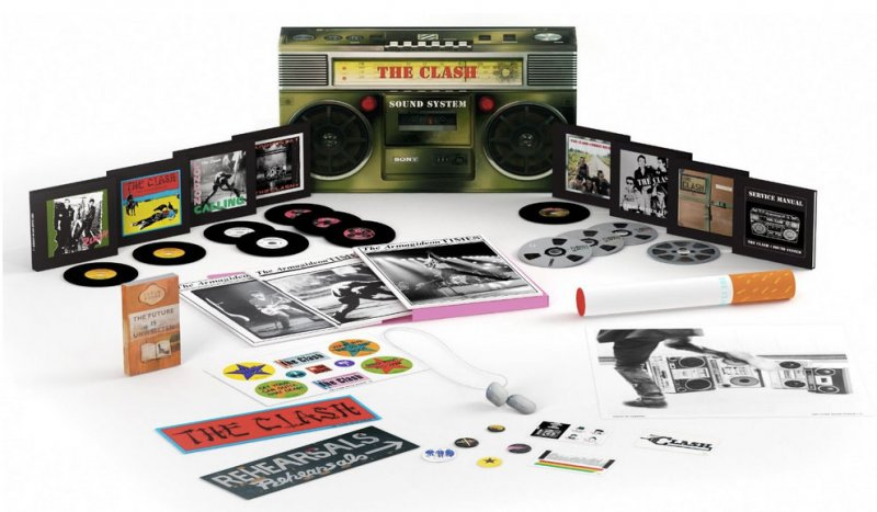 The Clash - Sound System (11cd+dvd) - CD