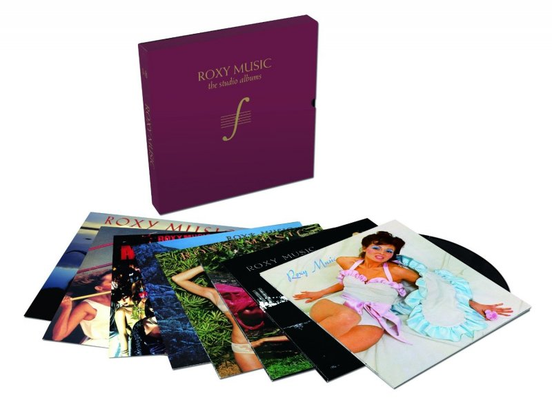 Roxy Music - The Complete Studio Albums - Vinyl / LP