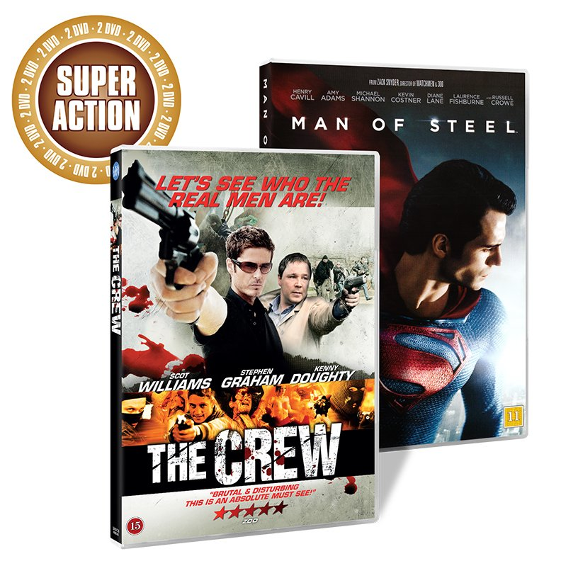 Image of   Man Of Steel // The Crew - DVD - Film