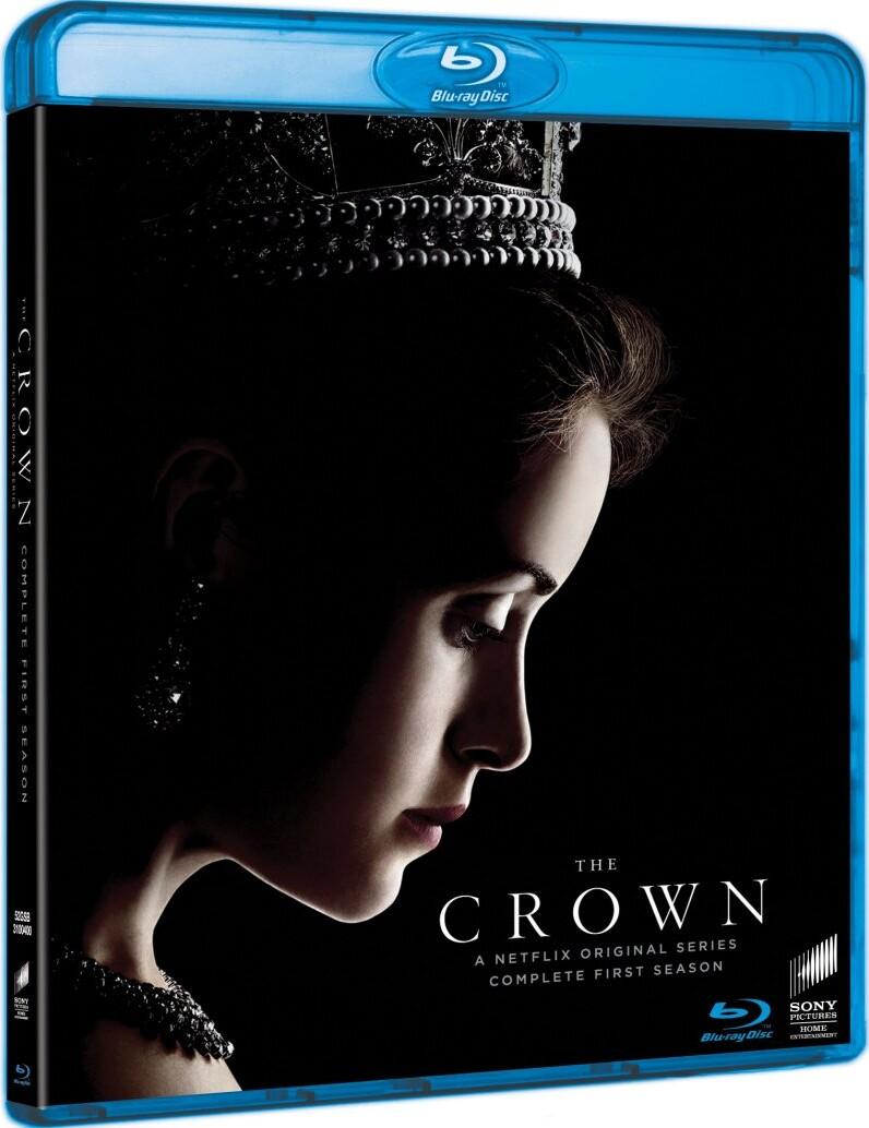 The Crown - Sæson 1 - Blu-Ray - Tv-serie