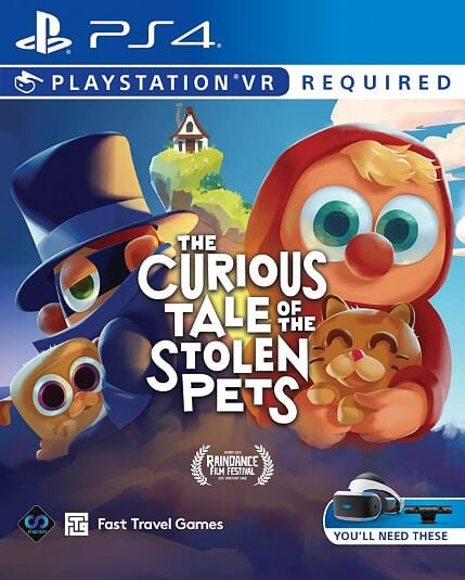 Image of   The Curious Tale Of The Stolen Pets Vr - PS4