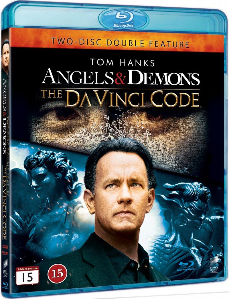 Billede af The Da Vinci Code / Engle Og Demoner Twin Pack - Blu-Ray