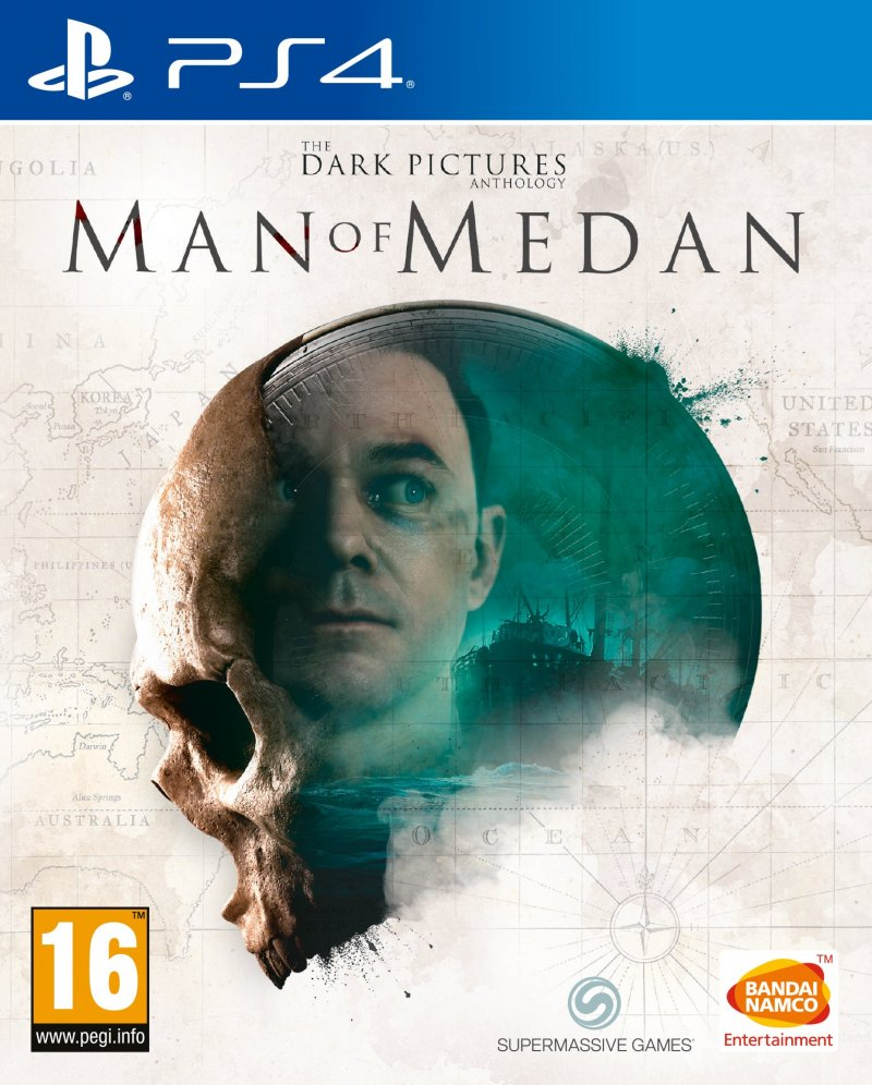 Image of   The Dark Pictures Anthology - Man Of Medan - PS4