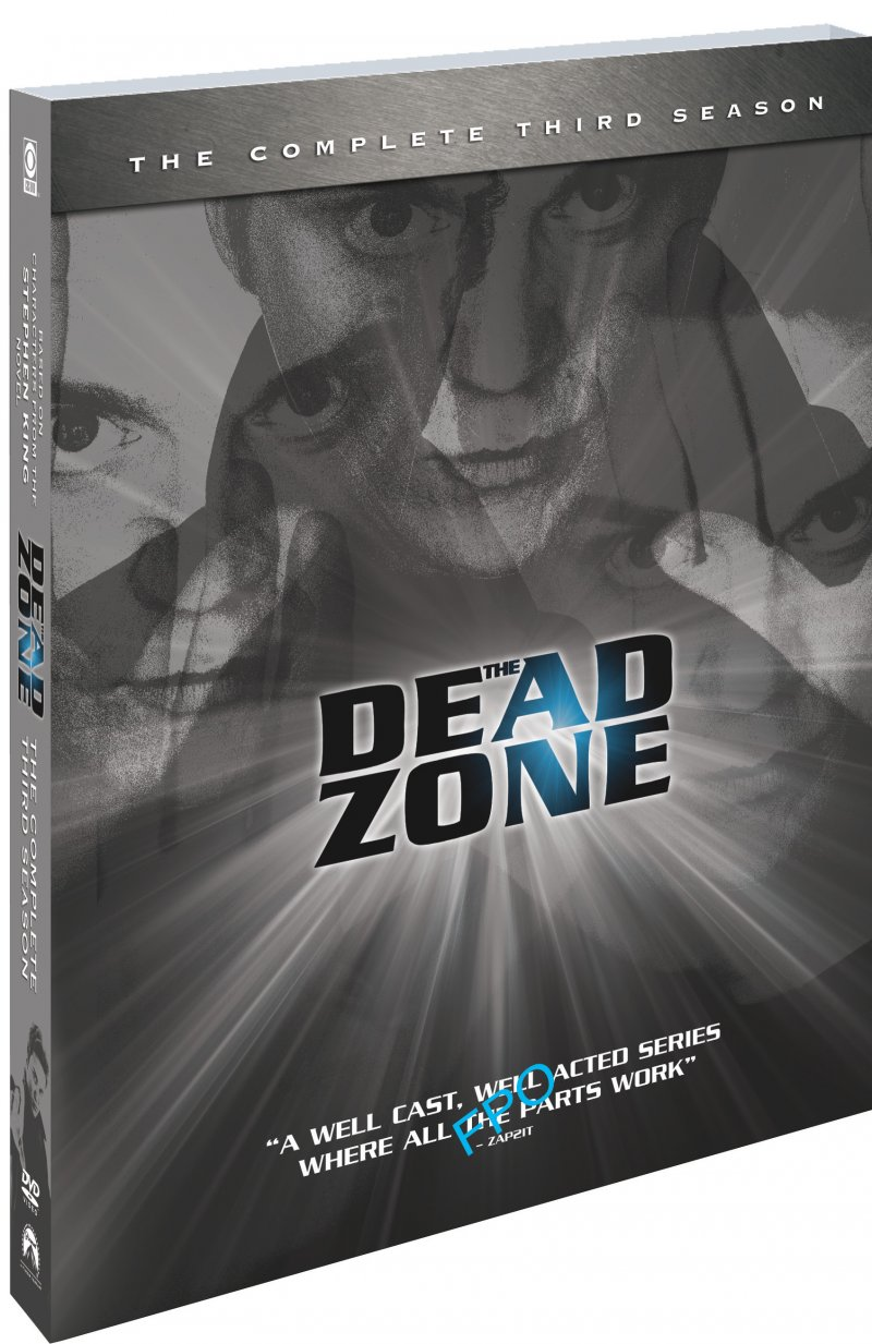 Image of   The Dead Zone - Sæson 3 - DVD - Tv-serie