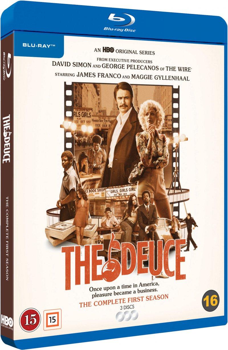 The Deuce - Sæson 1 - Hbo - Blu-Ray - Tv-serie