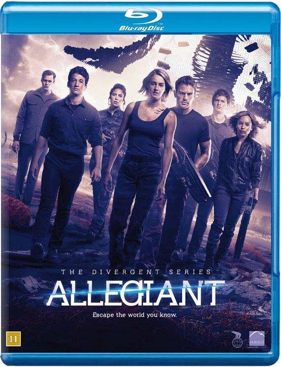 Image of   Allegiant - Divergent 3 - Blu-Ray