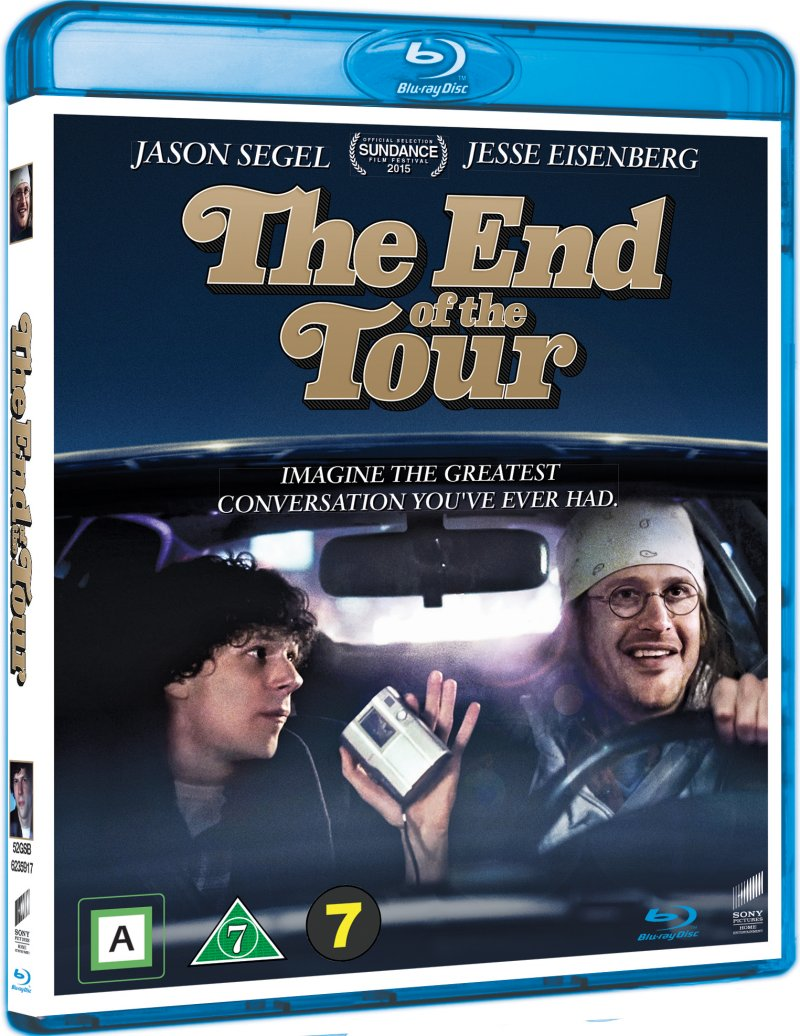 Image of   The End Of The Tour - Blu-Ray