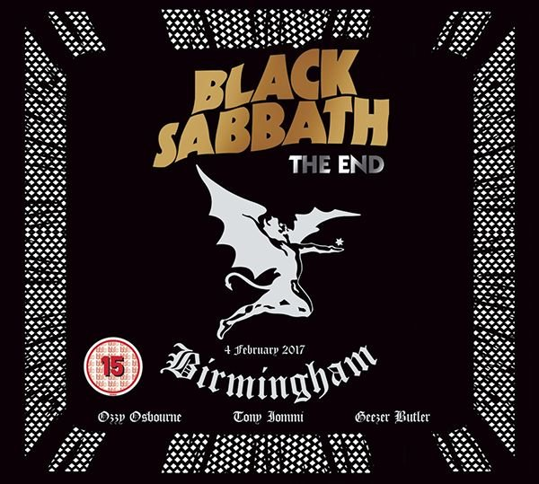 Image of   Black Sabbath - The End + The Angelic Sessions (cd+blu-ray) - CD