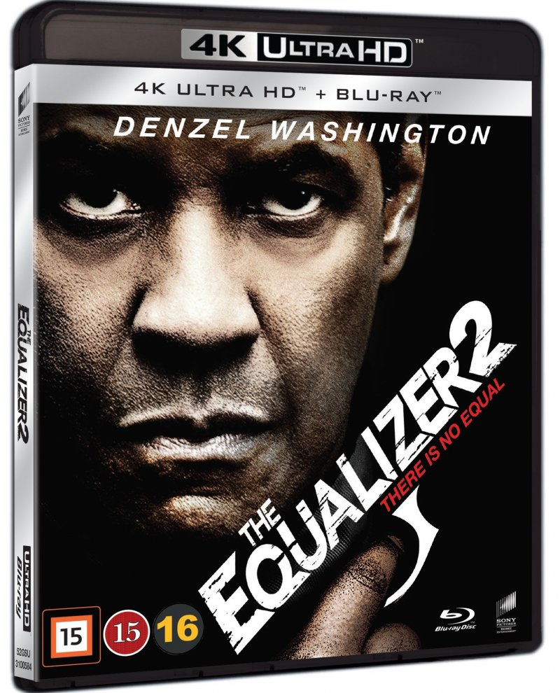 Image of   The Equalizer 2 - 4K Blu-Ray